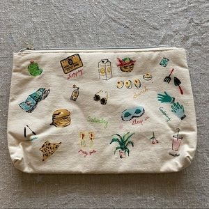 Anthro makeup pouch